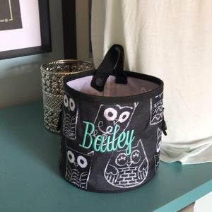 Thirty one Oh-Snap bin black white It's Owl Good